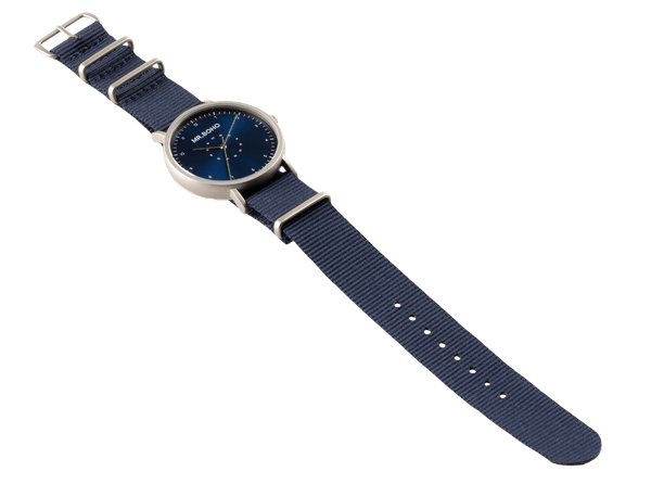 IRON BLUE - CASUAL - 40 MM