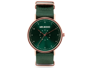 COPPER GREEN - CASUAL - 40 MM