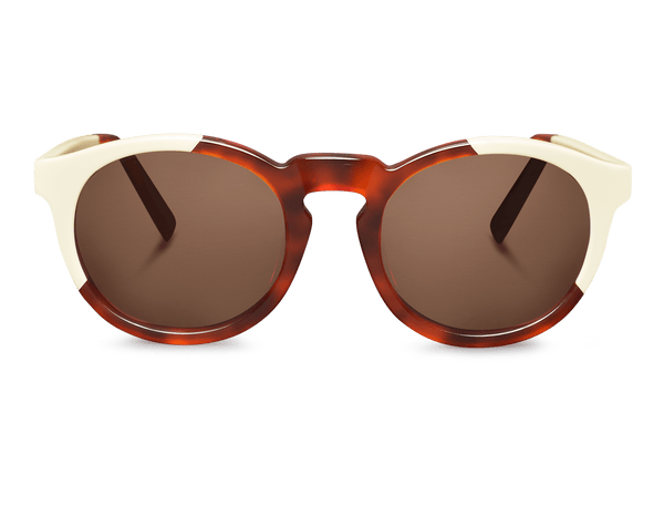 CREAM/LEO TORTOISE - JORDAAN - WITH CLASSICAL LENSES