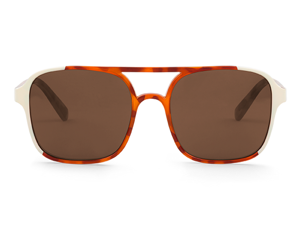 CREAM/LEO TORTOISE - OLTRARNO - WITH CLASSICAL LENSES