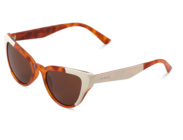CREAM/LEO TORTOISE - VESTERBRO - WITH CLASSICAL LENSES