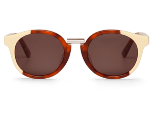 CREAM/LEO TORTOISE - FITZROY - WITH CLASSICAL LENSES