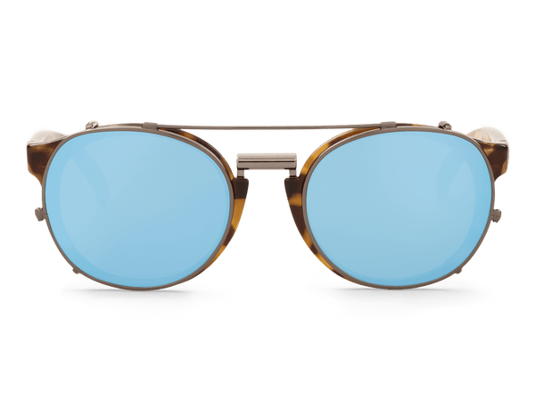 HC TORTOISE - NEWTOWN - WITH SKY BLUE LENSES