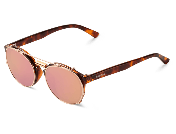VINTAGE TORTOISE - NEWTOWN - WITH COPPER LENSES