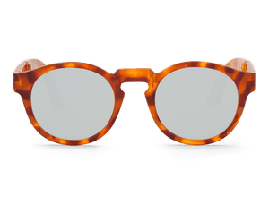 LEO TORTOISE - FOLDABLE JORDAAN - WITH SILVER LENSES
