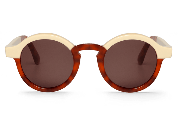 CREAM/LEO TORTOISE - DALSTON - WITH CLASSICAL LENSES