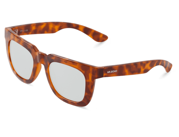 LEO TORTOISE - MELROSE - WITH SILVER LENSES