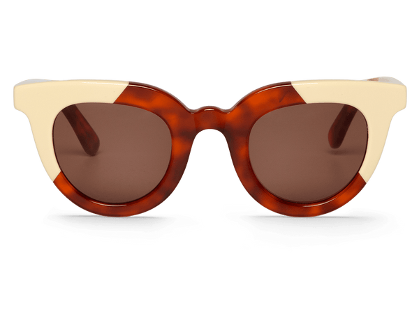 CREAM/LEO TORTOISE - HAYES - WITH CLASSICAL LENSES