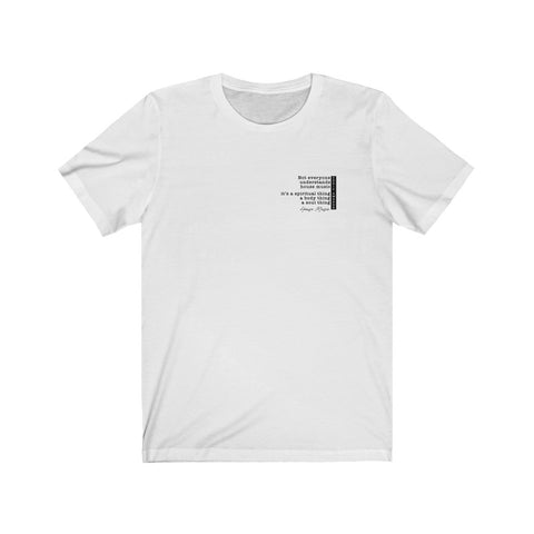 HOUSE MUSIC quote - Unisex Jersey Tee