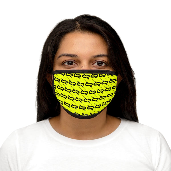 R935 LimeBlack Face Mask