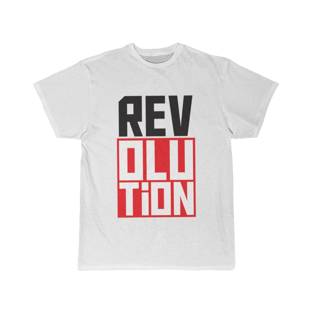 Rev/olu/tion - Cotton Tee Men