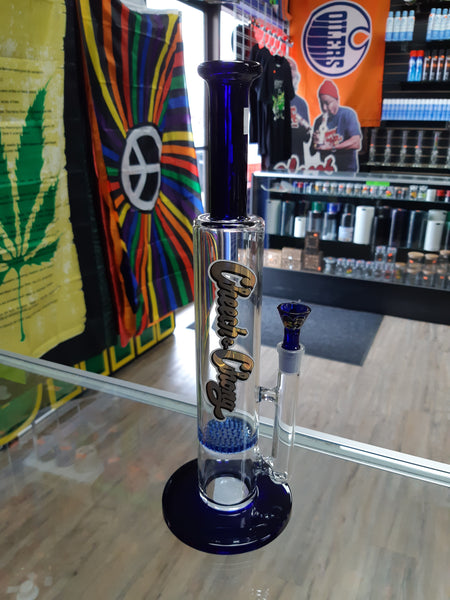 Bong Cheech & Chong Straight Tube Single Honey Comb Perc