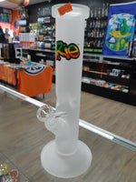 Bong Irie Frosted Glass Straight Tube