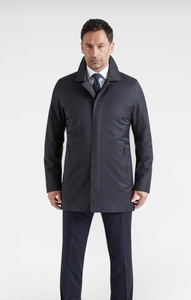 Regulator Coat Savile Wool