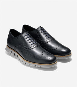 Zerogrand Wing Oxford Navy Ink/Ironstone