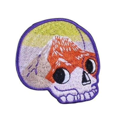 Abstract Skull Patch