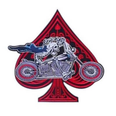 Ace of Spades Biker Patch