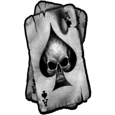 Ace of Spades Skull Sticker