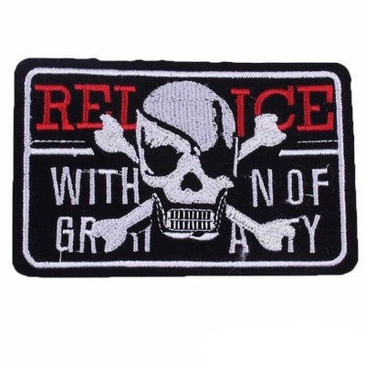 Airsoft Skull Patch