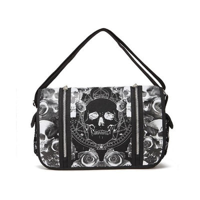 Black and White Skull Purse