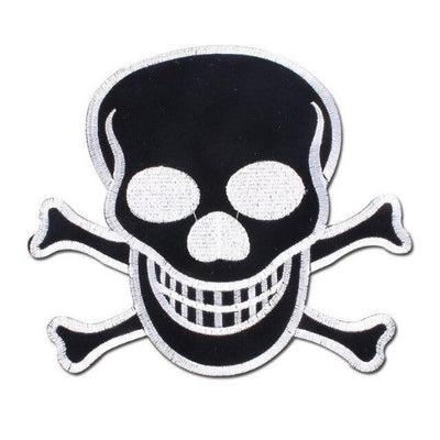 Black Skull Patch