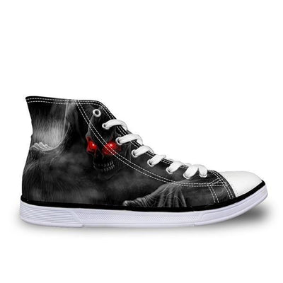 Black Skull Shoes