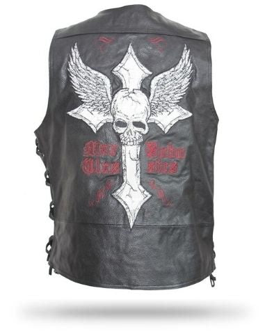 Cheap Skull Leather Jacket