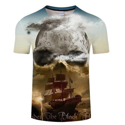 Cloud Skull T-Shirt