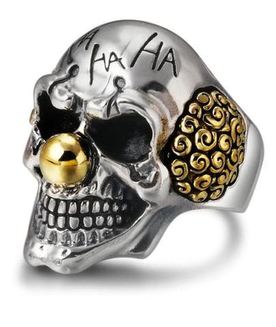 Clown Skull Ring
