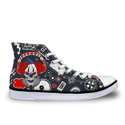 Clown Skull Shoes