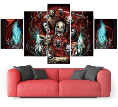 Crazy Skull Wall Art