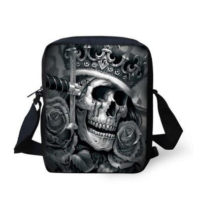 Crown Skull Bag