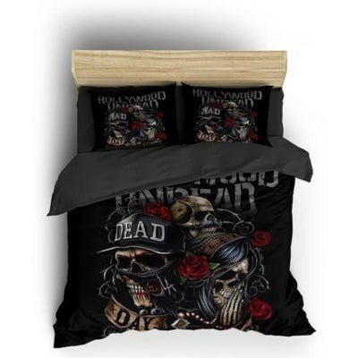 Day Of The Dead Skull Bedding