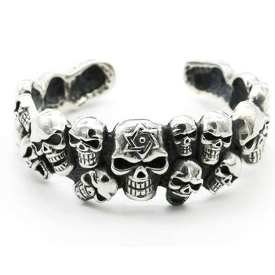 Day Of The Dead Skull Bracelet