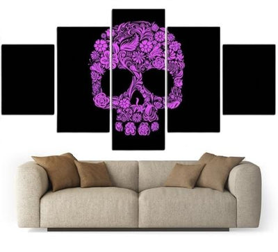 Day Of The Dead Skull Wall Art