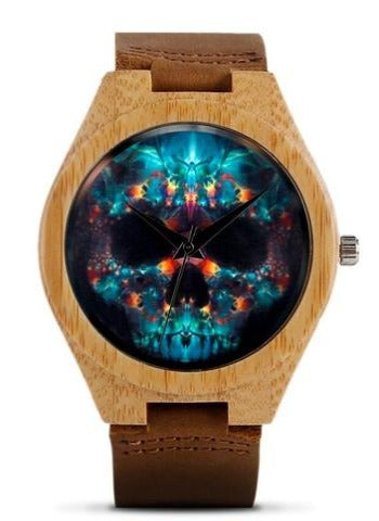 Day Of The Dead Skull Watch