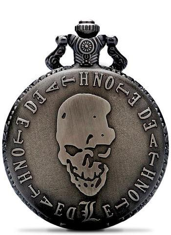 Death Note Skull Pocket Watch