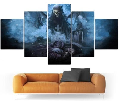 Death Skull Wall Art