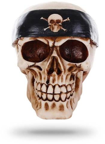 Decorative Biker Skull