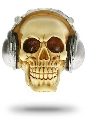 Decorative DJ Skull