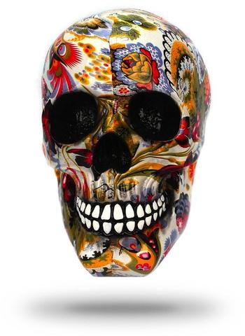 Decorative Floral Skull