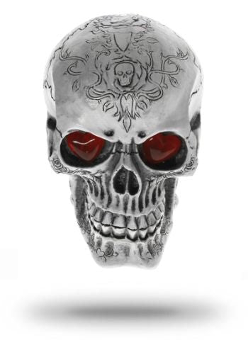 Decorative Metal Skull
