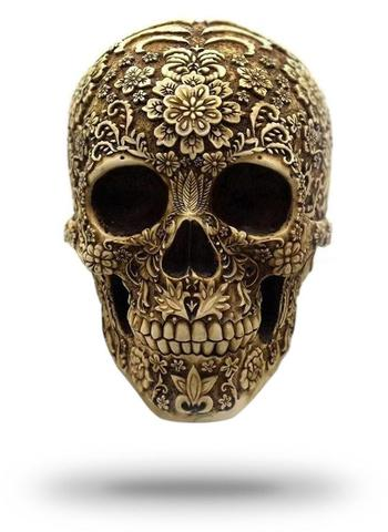 Decorative Mexican Skull