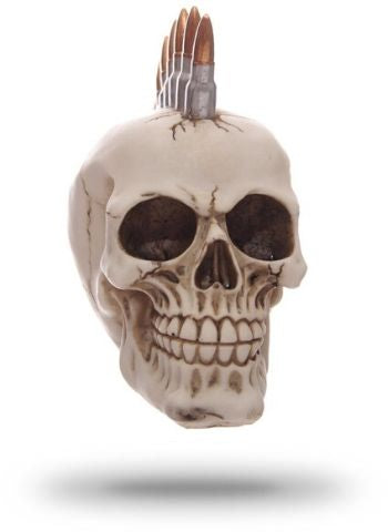 Decorative Punk Skull