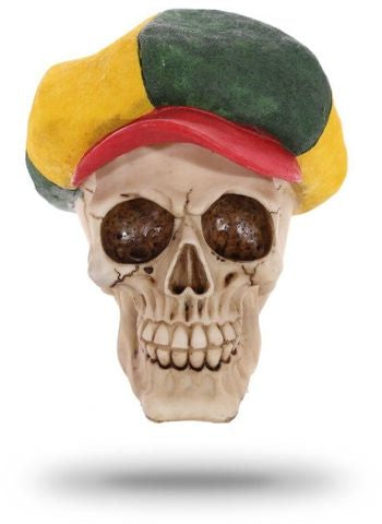Decorative Rastaman Skull