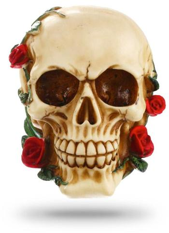 Decorative Roses Skull