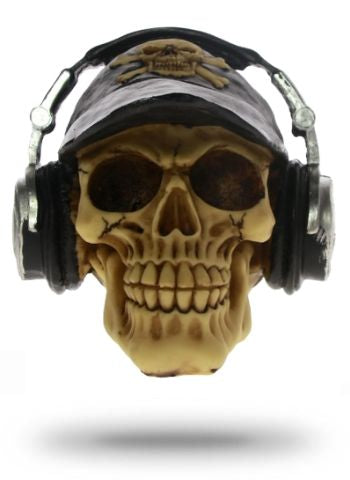 Decorative Skull Headphones