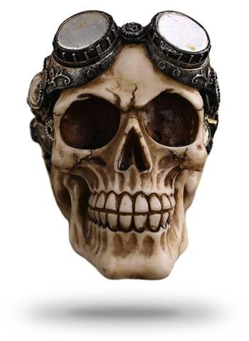 Decorative Steampunk Skull