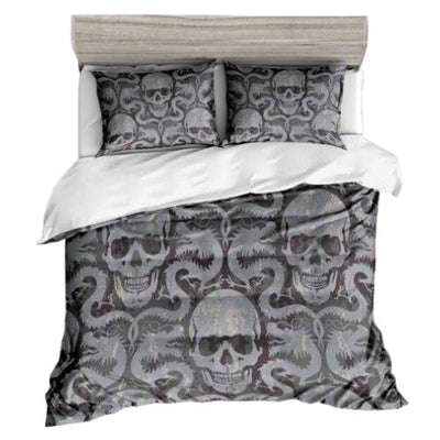 Dragon and Skull Bedding