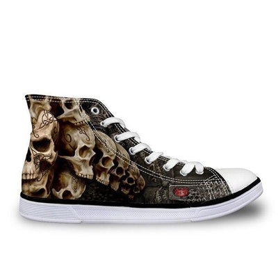 Fashion Skull Shoes